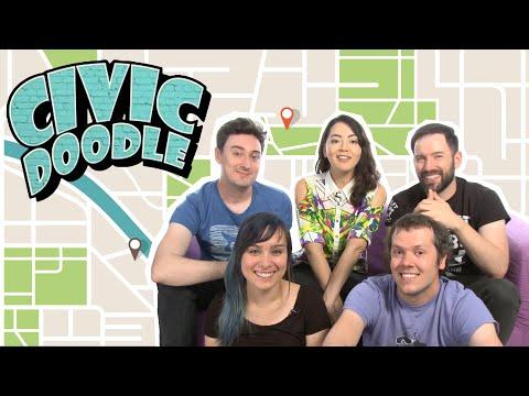 MAKE A MURAL CHALLENGE   We Doodle in Jackbox Civic Doodle in Challenge of the Week
