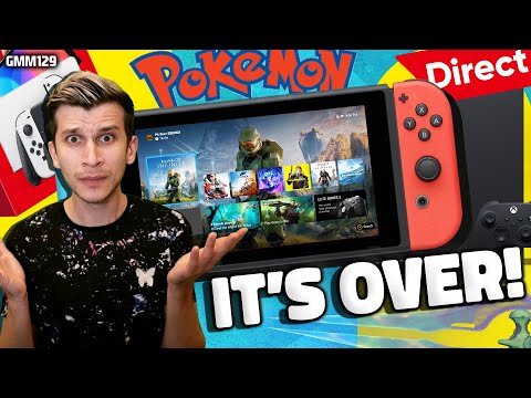 Nintendo and Xbox: CONFIRMED DONE?! + New Direct Announced for Switch Pokemon Games!