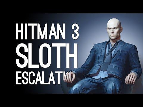Hitman 3 SLOTH ESCALATION: Don't Move!   Hitman 3 Seven Deadly Sins DLC