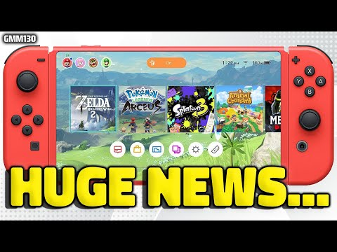 Nintendo Switch HUGE NEWS Just Dropped...