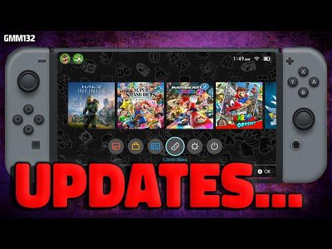 Nintendo Switch NEW UPDATES + 2022 Game Delays...