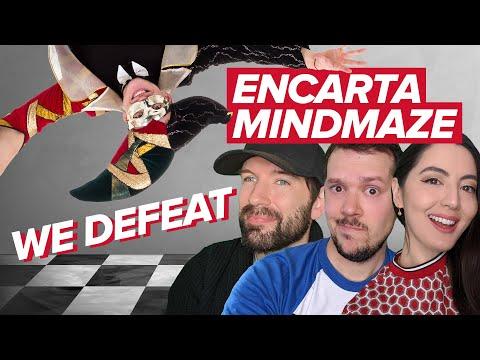 ENCARTA MINDMAZE!   We Defeat Hellish Trivia Maze from Microsoft Encarta and Kill Jester, Probably