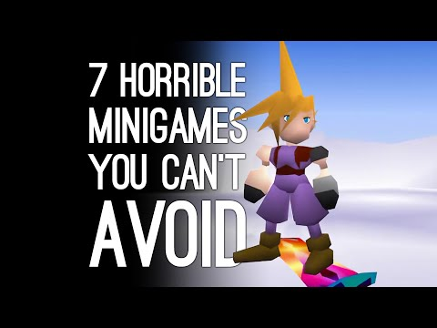 7 Horrible Minigames You Can't Avoid If You Want to Finish the Game