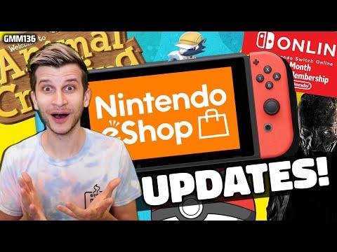 Nintendo eShop UPDATE + Switch News CONFIRMED!