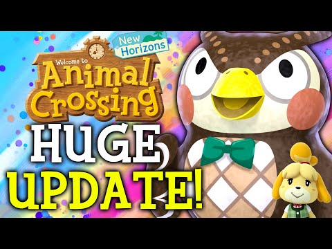 Animal Crossing September Update - ALL New Features, Events, Villagers, Fish, Bugs in New Horizons!