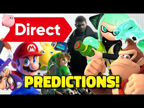 Rumored Nintendo Direct PREDICTIONS DISCUSSION - Splatoon 3, Smash DLC, Mario, BOTW2, New DK Switch!