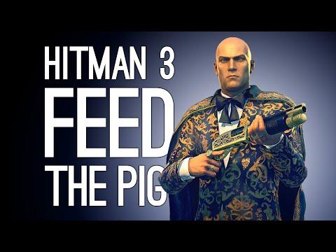 Hitman 3 GLUTTONY ESCALATION: Feed the Pig!   Hitman 3 Seven Deadly Sins DLC