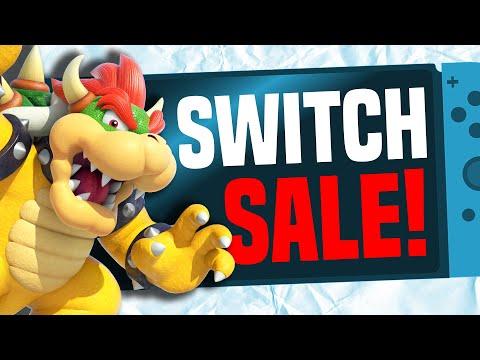 A HUGE Nintendo Switch eShop Sale Started!