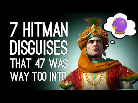 7 Hitman Disguises That Agent 47 Was Worryingly Way Too Into