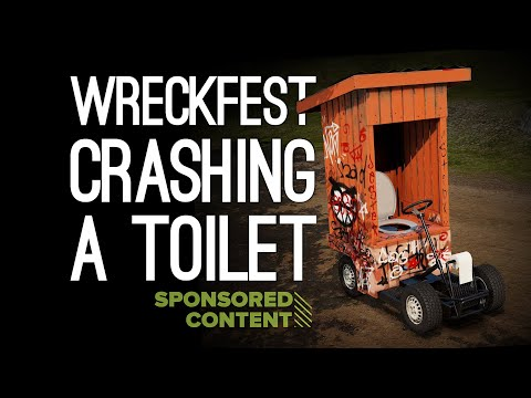 Wreckfest: CRASHING A TOILET with Andy, Mike and Jane in Wreckfest (Sponsored Content)