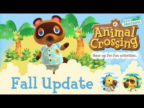 GETTING READY FOR the New Animal Crossing Update Fall 2021!