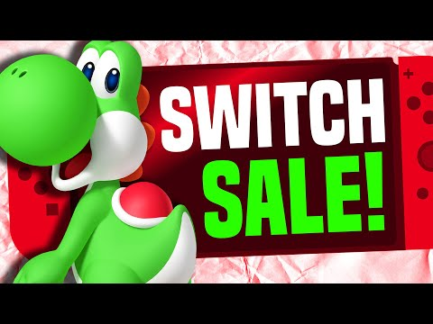 An EPIC Nintendo Switch eShop Sale Starting NOW!