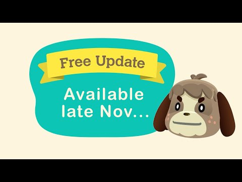 Animal Crossing New Horizons BAD NEWS for New Update...