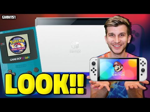 Nintendo Switch OLED EARLY LOOK! + New Games Leak!