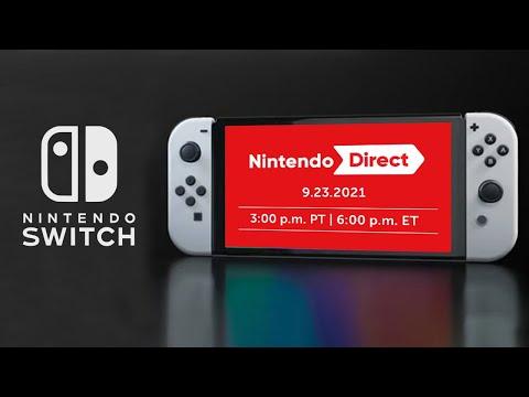 Nintendo Direct September 2021 FINALLY CONFIRMED + Splatoon 3 Early?!