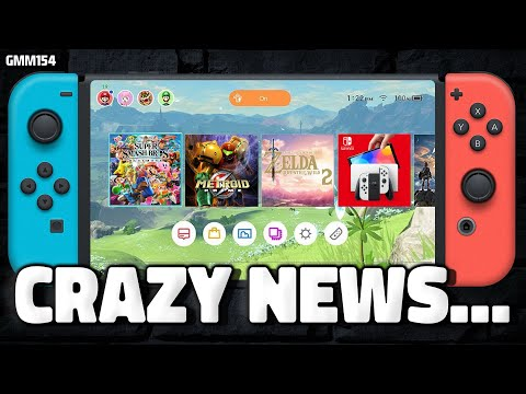 Nintendo Switch CRAZY NEWS Happening Now...