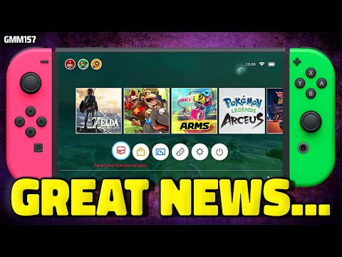 Nintendo Switch GREAT NEWS Just Happened...