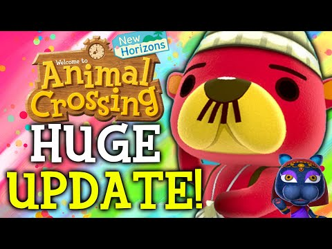 Animal Crossing October Update - ALL New Features, Events, Villagers, Fish, Bugs in New Horizons!