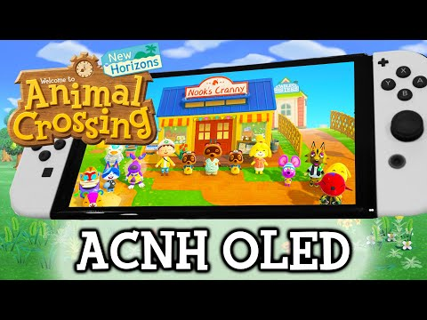 Animal Crossing New Update Nintendo Switch OLED | WORLD'S FIRST GAMEPLAY!