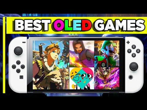 BEST Nintendo Switch OLED Games To Buy In 2021!