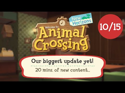 IT'S FINALLY HERE!! Animal Crossing New Horizons November Update (Animal Crossing Direct 2021)