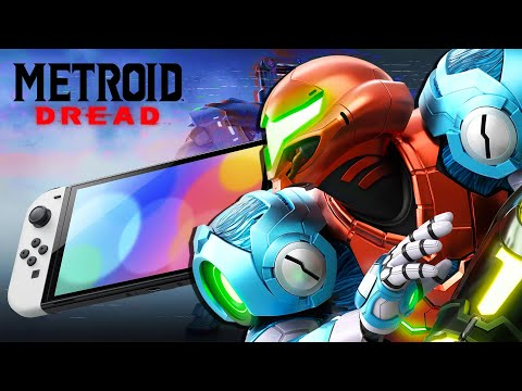 Metroid Dread Gameplay LIVE LAUNCH DAY | Nintendo Switch News & Games