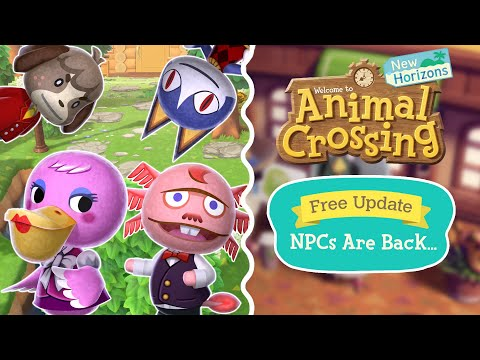 THEY'RE ALL BACK?! New Animal Crossing Update Video...