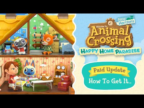 EVERYTHING You Need To Know! Animal Crossing Happy Home Paradise DLC New Animal Crossing Update 2.0