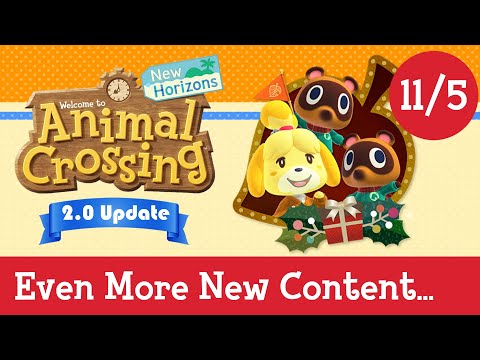 EVEN MORE FEATURES JUST REVEALED! New Animal Crossing Update 2.0, Animal Crossing New Horizons DLC!