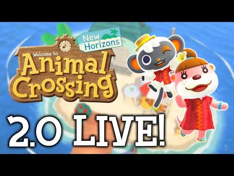 WE ALL DID IT! Animal Crossing 2.0 Update FINALLY Happened! | NookTalk Live Ep. 41