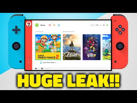 NEXT Nintendo Switch Console Is Digital Only...
