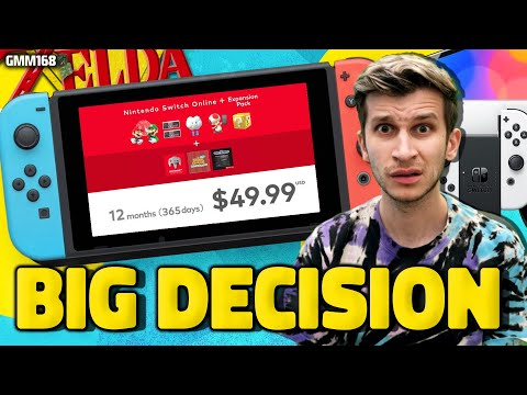Nintendo Switch Online 'CANCELLED'...What A Mess! + Switch Sales Drop!
