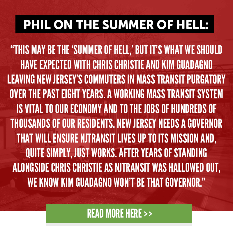 Phil on the summer of hell