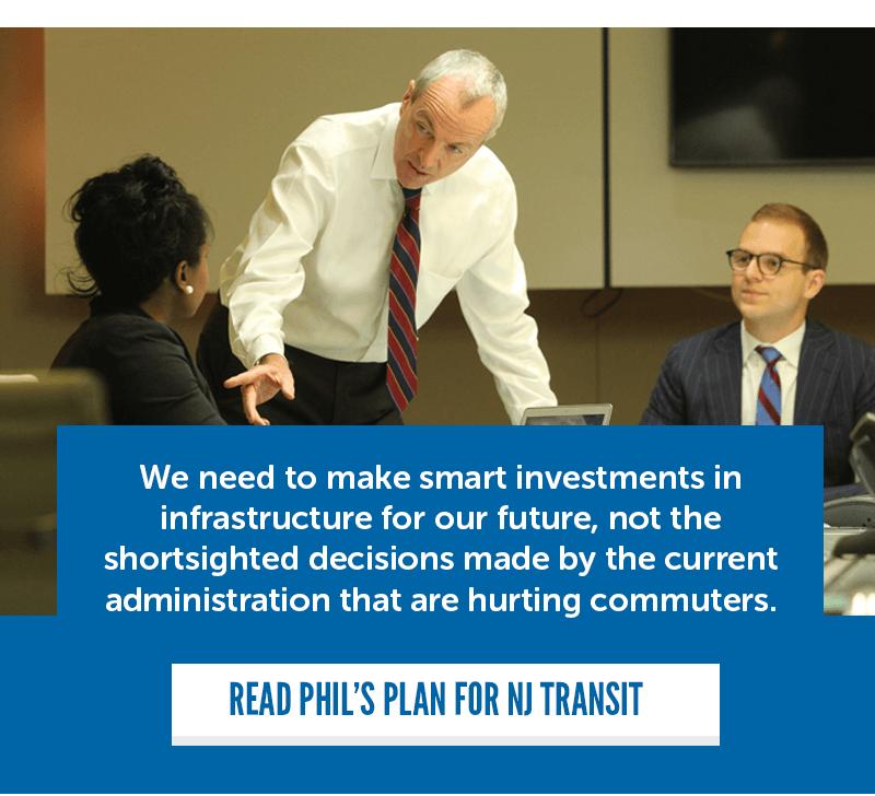 Phil's plan for NJ Transit