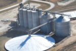 Cooperative Producers Fairmont GSI steel tank aerial