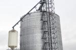 New 768,000-bushel steel addition