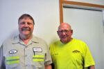 Jeff Hageman Steve Glaser Five Star Cooperative New Hampton