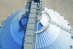 Morrow County Grain Growers steel tank conveyor