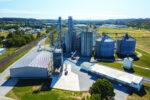 Coshocton Grain Co. aerial