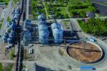 West Central Ag Services Beltrami storage pile