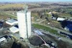 Farmers Cooperative Burchard Aerial Shot