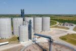 Farmers Cooperative Frankfort Rail Terminal Mcpherson Concrete Tank