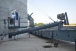 Farmers Cooperative Jansen Frisbie Construction Tube Auger Agi Hi Roller Belt Conveyor