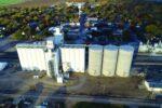 Kanza Cooperative Association Aerial Shot