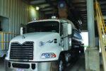 Feed Truck in Loadout Bay
