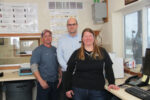 Andy Mahlke, Al Jentz, and Julie Zimmerman