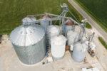 Total Grain Marketing Stewardson Aerial Shot