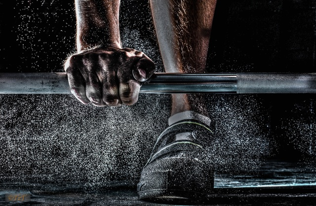 Chalky Barbell