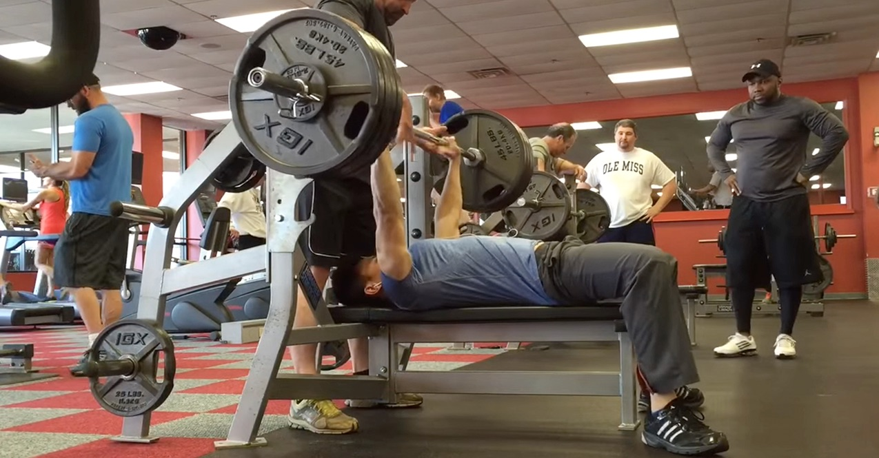 UFpwrLifter benching