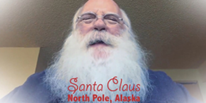 Santa  Claus Claus Is A Medical Cannabis Patient In The North Pole.